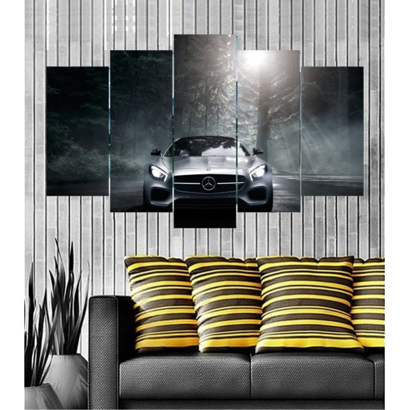 Wall Frames 5 Pieces Set Canvas - Digitally Printed Wall Canvas  post-110