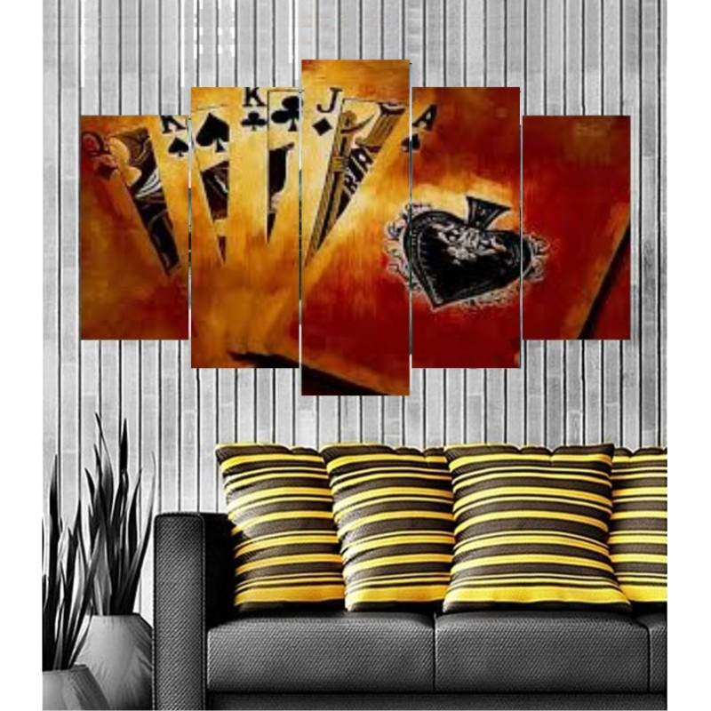 Wall Frames 5 Pieces Set Canvas - Digitally Printed Wall Canvas  post-113