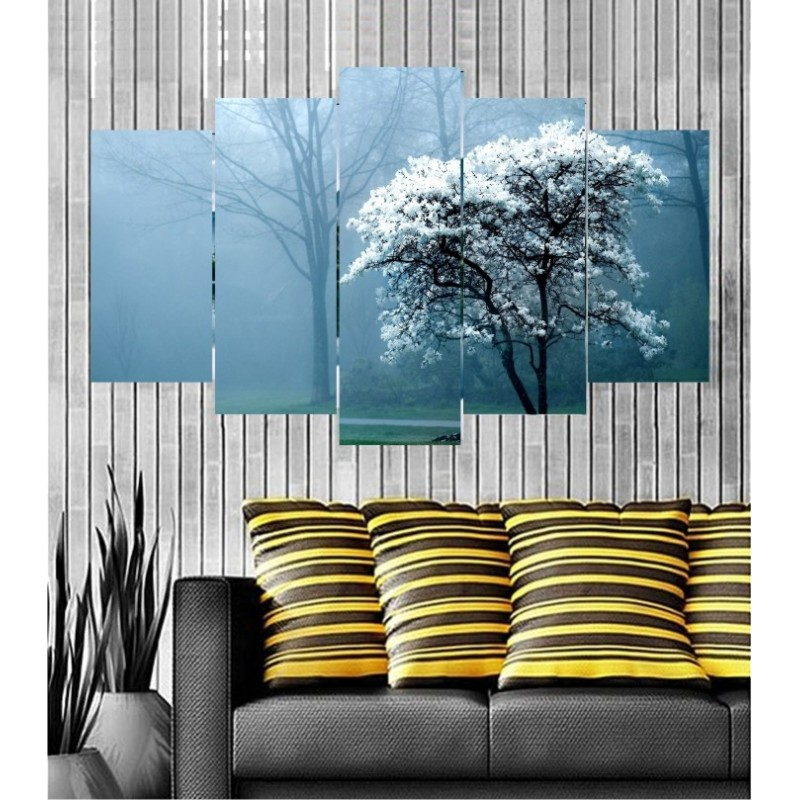 Wall Frames 5 Pieces Set Canvas - Digitally Printed Wall Canvas  post-116