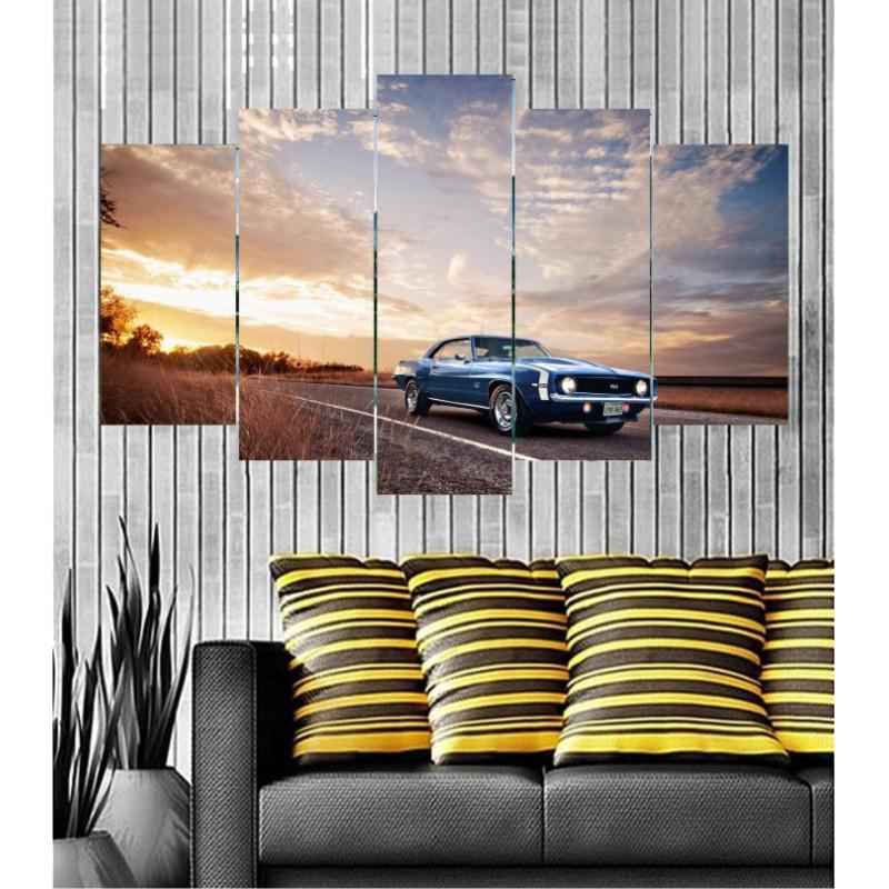 Wall Frames 5 Pieces Set Canvas - Digitally Printed Wall Canvas  post-119