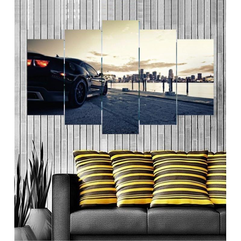 Wall Frames 5 Pieces Set Canvas - Digitally Printed Wall Canvas  post-123