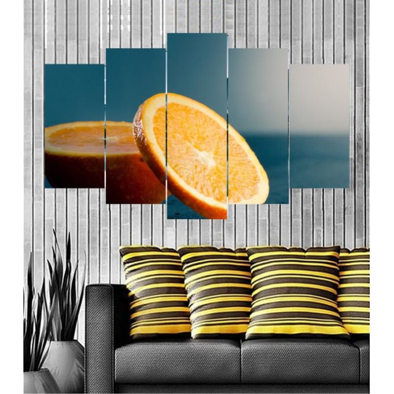 Wall Frames 5 Pieces Set Canvas - Digitally Printed Wall Canvas  post-124