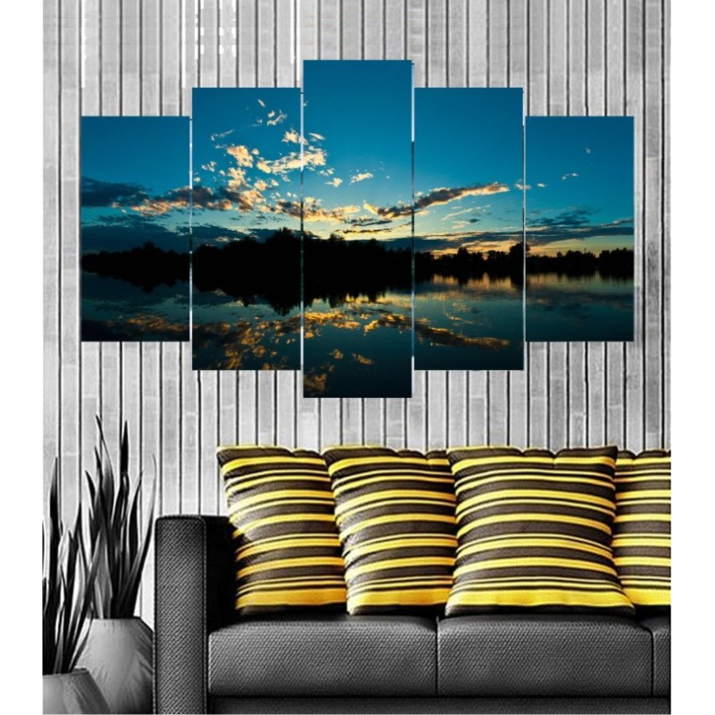 Wall Frames 5 Pieces Set Canvas - Digitally Printed Wall Canvas  post-125