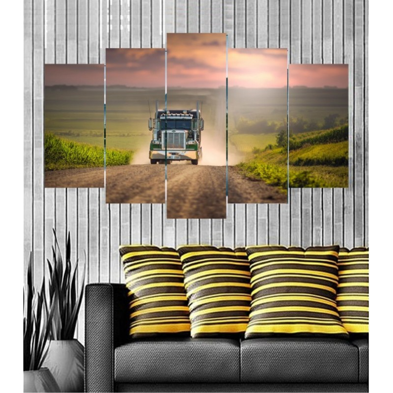 Wall Frames 5 Pieces Set Canvas - Digitally Printed Wall Canvas  post-126