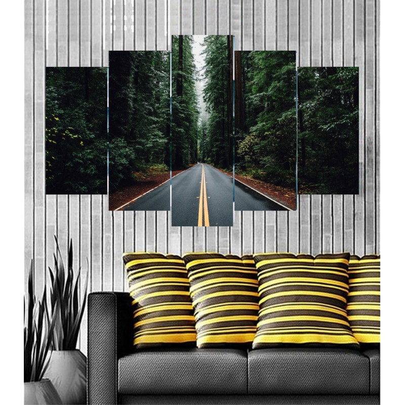 Wall Frames 5 Pieces Set Canvas - Digitally Printed Wall Canvas Frames post-13