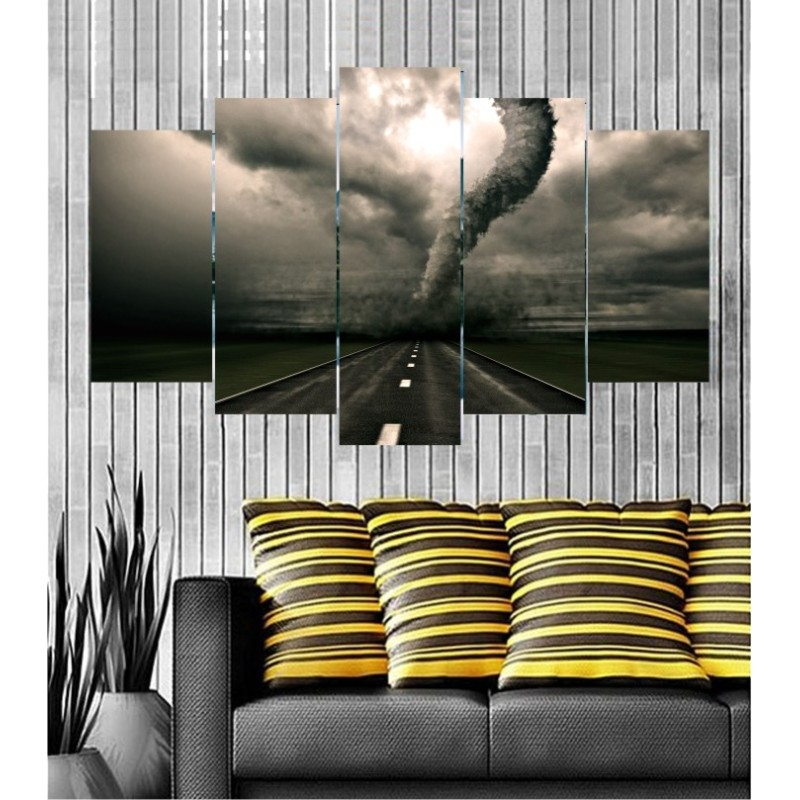 Wall Frames 5 Pieces Set Canvas - Digitally Printed Wall Canvas  post-133