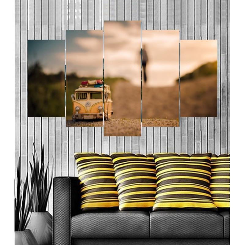 Wall Frames 5 Pieces Set Canvas - Digitally Printed Wall Canvas  post-135