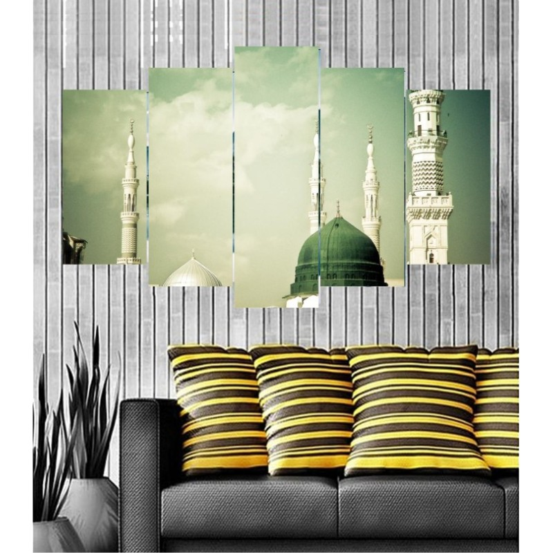 Wall Frames 5 Pieces Set Canvas - Digitally Printed Wall Canvas  post-139
