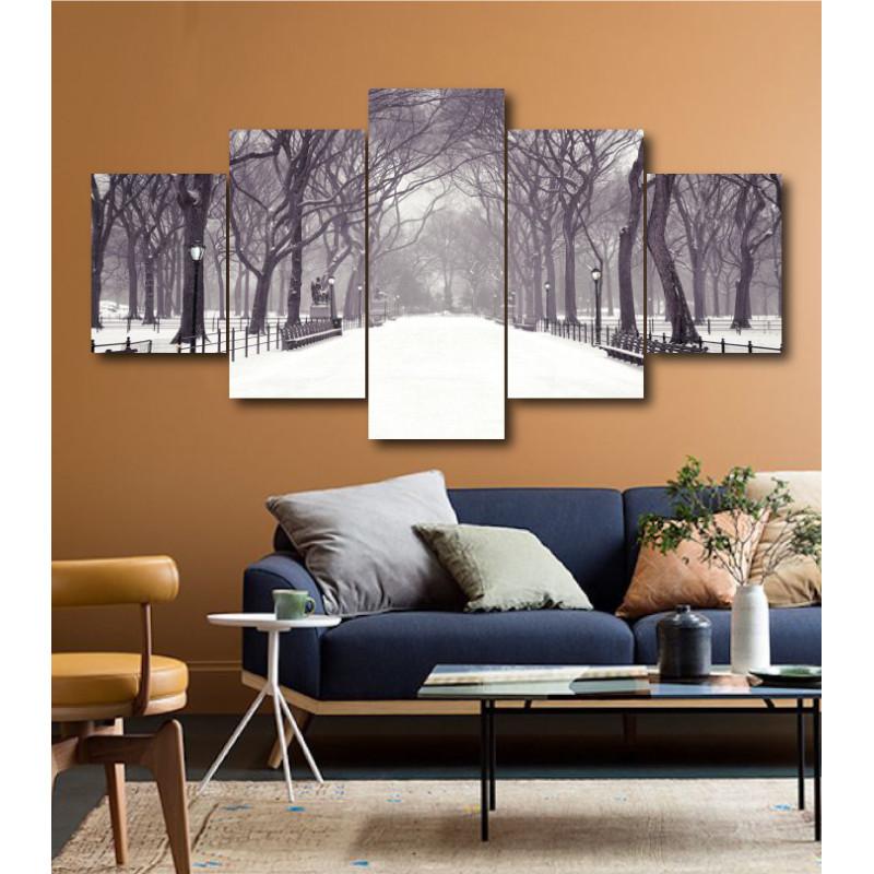 Wall Frames 5 Pieces Set Canvas - Digitally Printed Wall Canvas  post-153