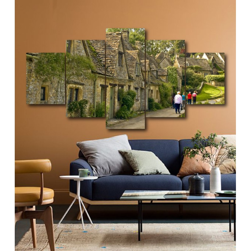Wall Frames 5 Pieces Set Canvas - Digitally Printed Wall Canvas  post-160