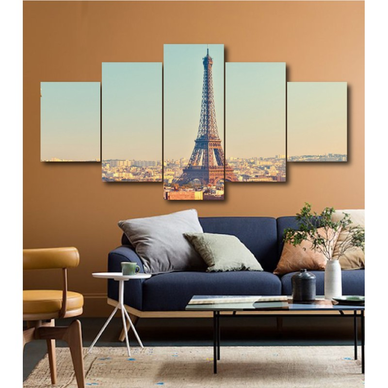 Wall Frames 5 Pieces Set Canvas - Digitally Printed Wall Canvas  post-165