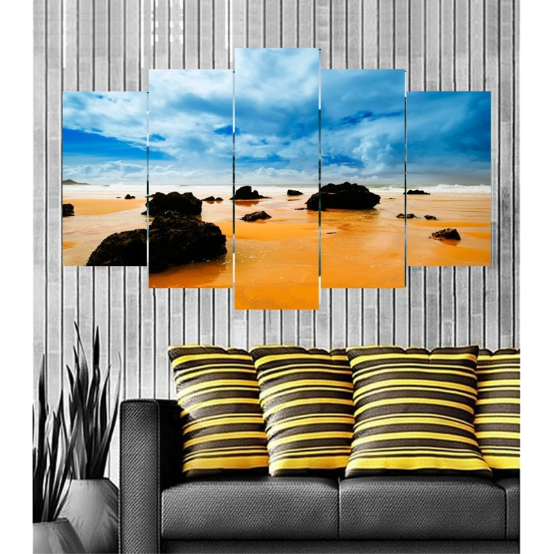 Wall Frames 5 Pieces Set Canvas - Digitally Printed Wall Canvas Frames post-17