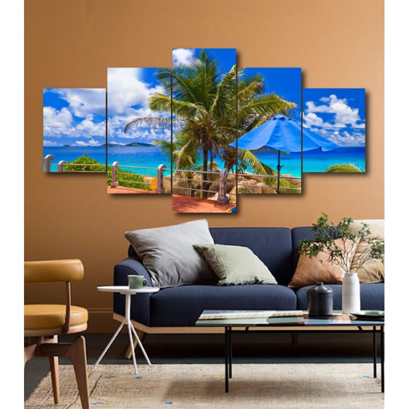 Wall Frames 5 Pieces Set Canvas - Digitally Printed Wall Canvas  post-177