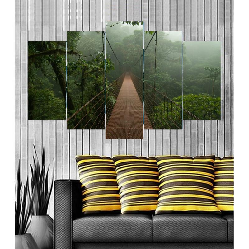 Wall Frames 5 Pieces Set Canvas - Digitally Printed Wall Canvas Frames post-18