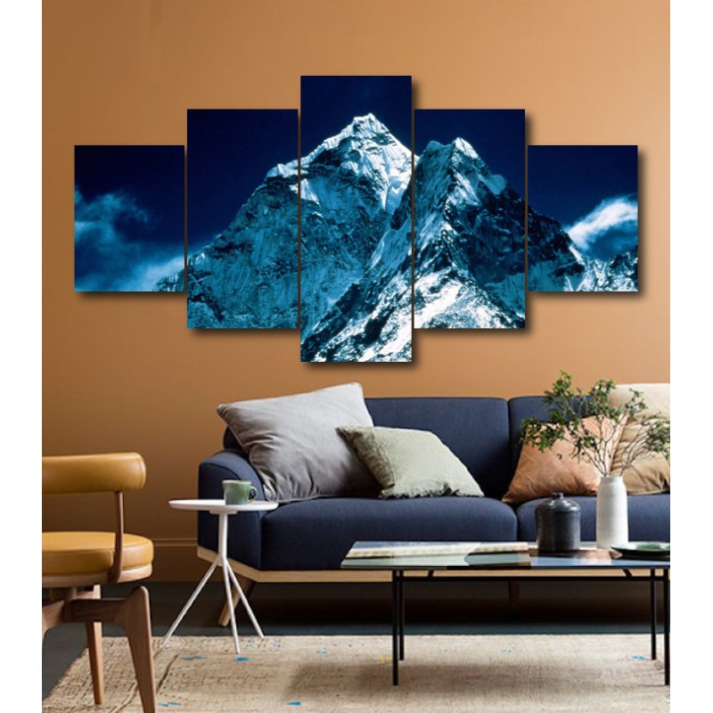 Wall Frames 5 Pieces Set Canvas - Digitally Printed Wall Canvas  post-183