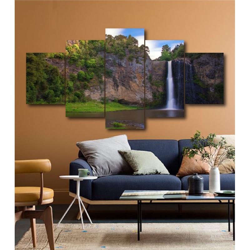 Wall Frames 5 Pieces Set Canvas - Digitally Printed Wall Canvas  post-197