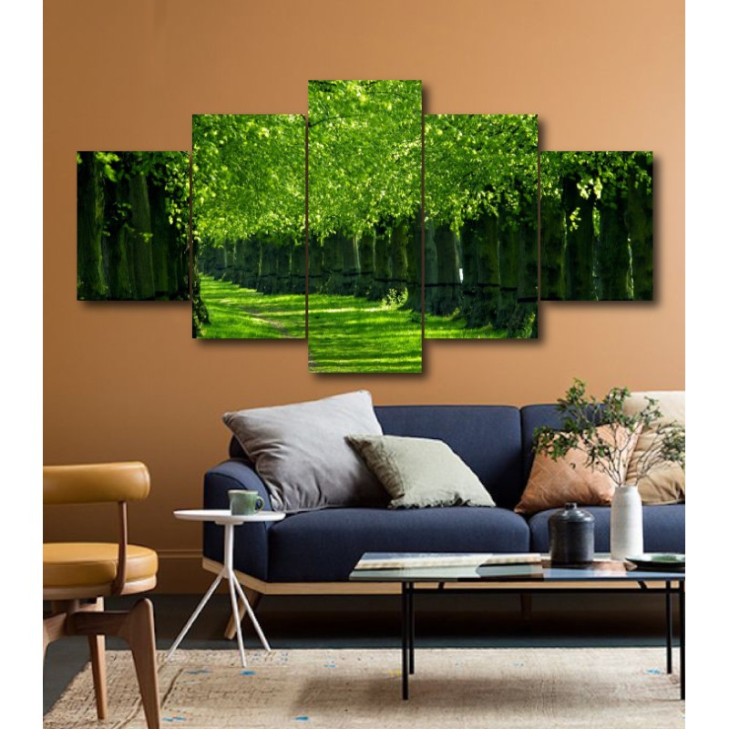 Wall Frames 5 Pieces Set Canvas - Digitally Printed Wall Canvas  post-200