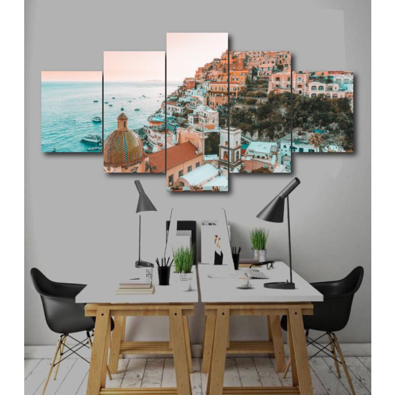 Wall Frames 5 Pieces Set Canvas - Digitally Printed Wall Canvas  post-210