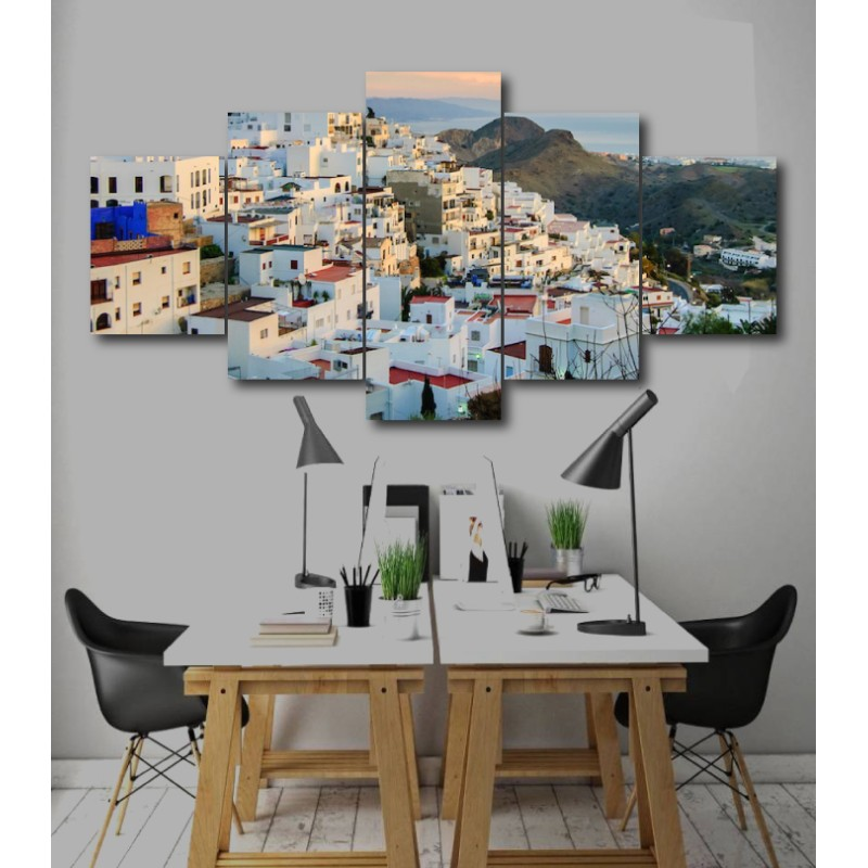Wall Frames 5 Pieces Set Canvas - Digitally Printed Wall Canvas  post-211