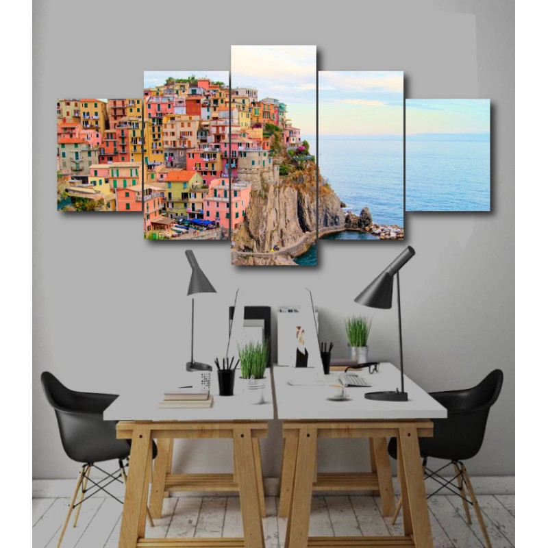 Wall Frames 5 Pieces Set Canvas - Digitally Printed Wall Canvas  post-212