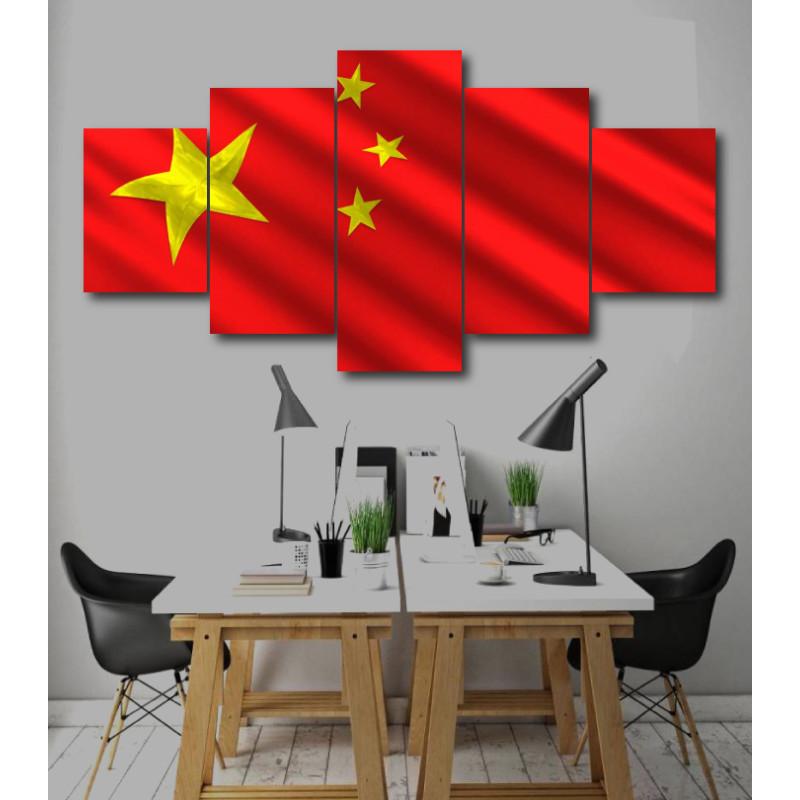 Wall Frames 5 Pieces Set Canvas - Digitally Printed Wall Canvas  post-224