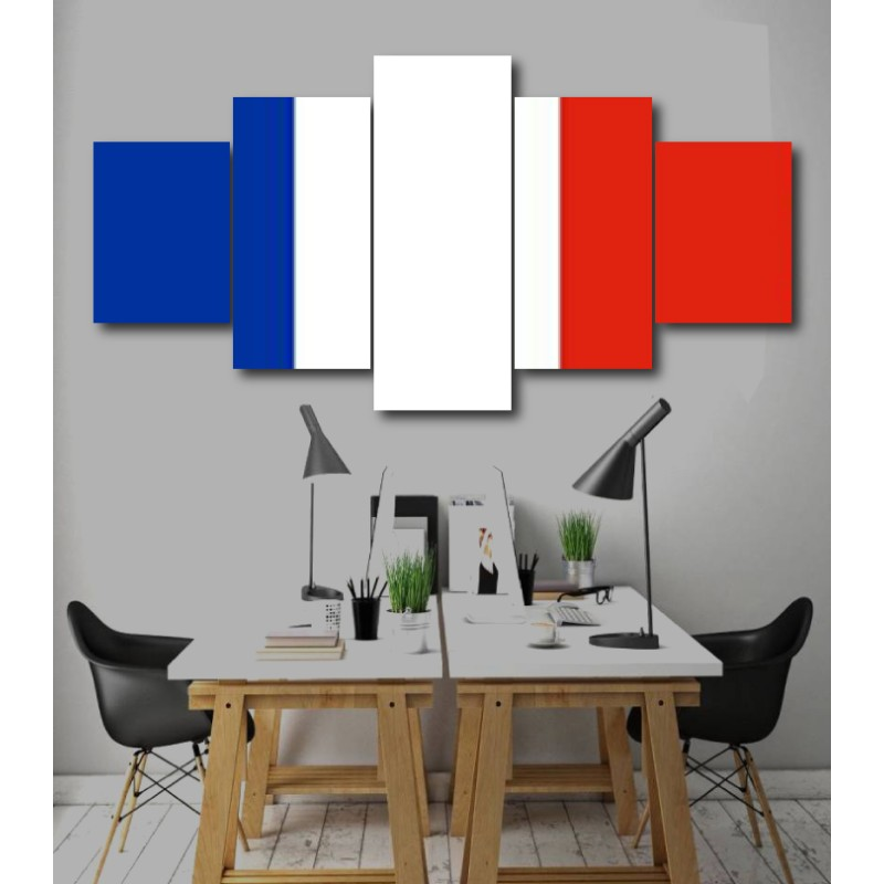 Wall Frames 5 Pieces Set Canvas - Digitally Printed Wall Canvas  post-226