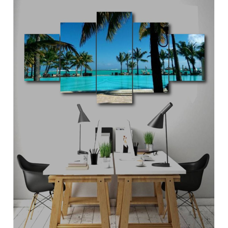 Wall Frames 5 Pieces Set Canvas - Digitally Printed Wall Canvas  post-229