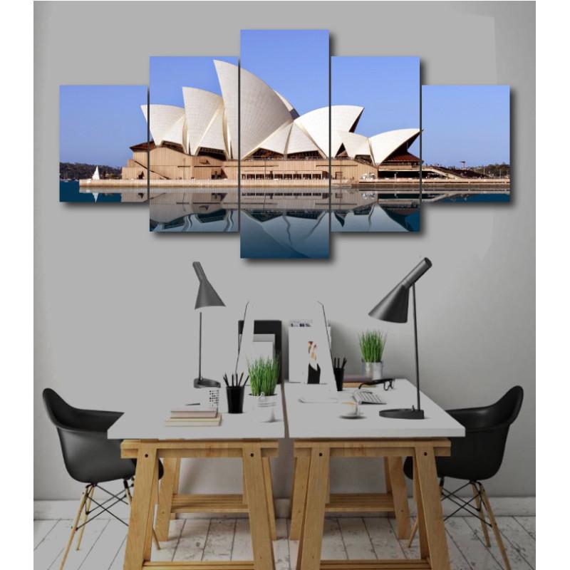 Wall Frames 5 Pieces Set Canvas - Digitally Printed Wall Canvas  post-233