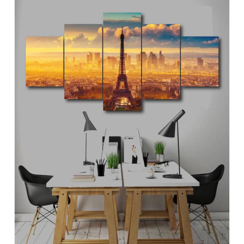 Wall Frames 5 Pieces Set Canvas - Digitally Printed Wall Canvas  post-238