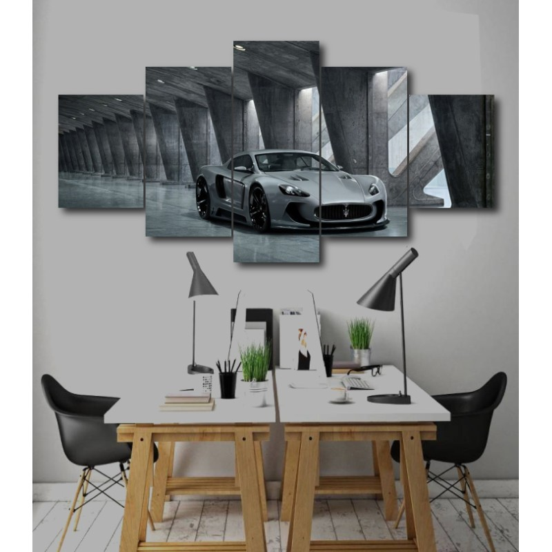 Wall Frames 5 Pieces Set Canvas - Digitally Printed Wall Canvas  post-241