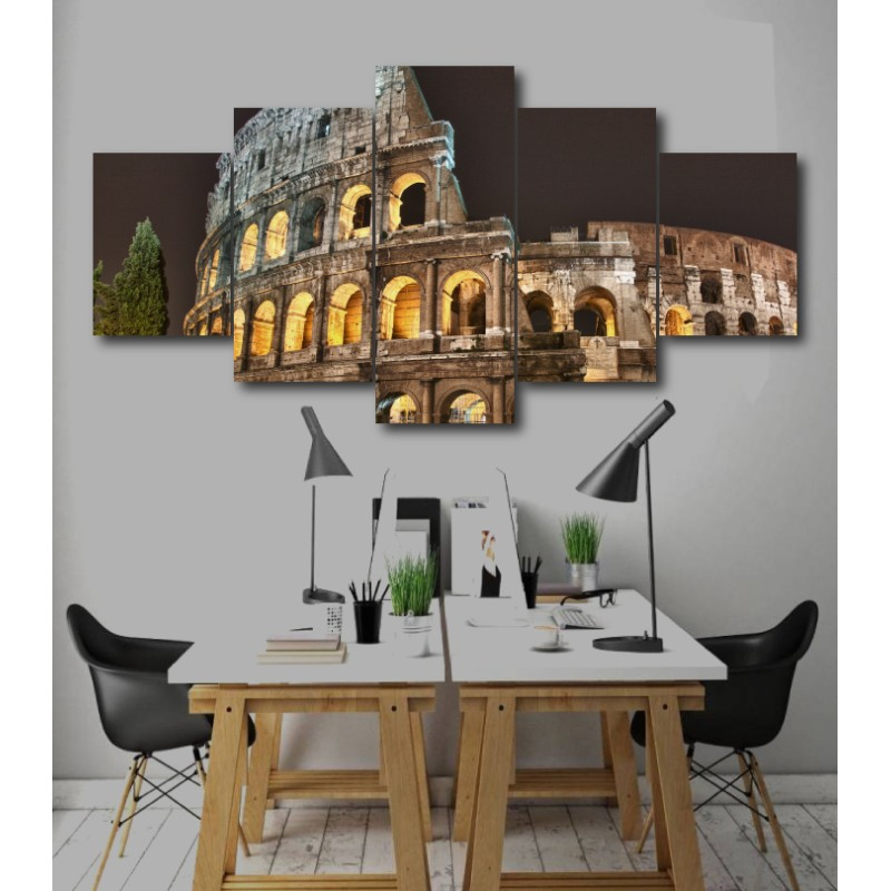 Wall Frames 5 Pieces Set Canvas - Digitally Printed Wall Canvas  post-246