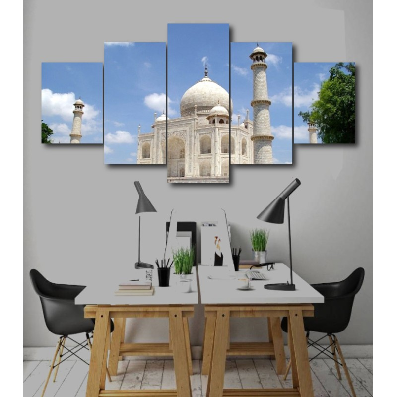 Wall Frames 5 Pieces Set Canvas - Digitally Printed Wall Canvas  post-253