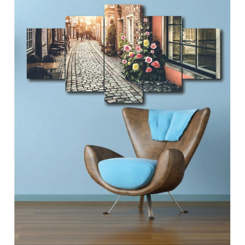 Wall Frames 5 Pieces Set Canvas - Digitally Printed Wall Canvas  post-261