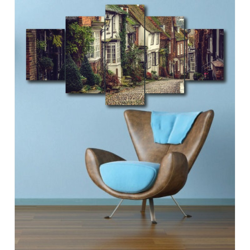 Wall Frames 5 Pieces Set Canvas - Digitally Printed Wall Canvas  post-262