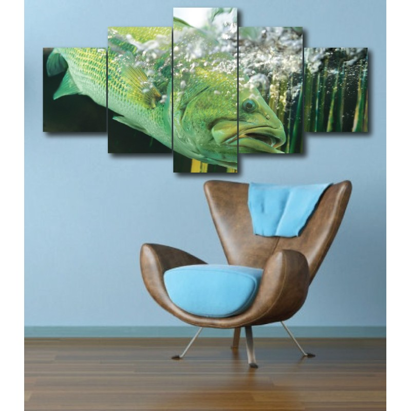 Wall Frames 5 Pieces Set Canvas - Digitally Printed Wall Canvas  post-265