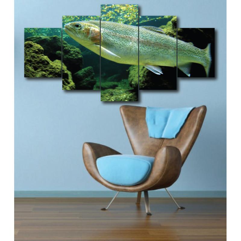 Wall Frames 5 Pieces Set Canvas - Digitally Printed Wall Canvas  post-266