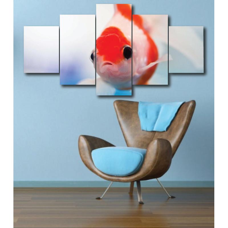Wall Frames 5 Pieces Set Canvas - Digitally Printed Wall Canvas  post-270