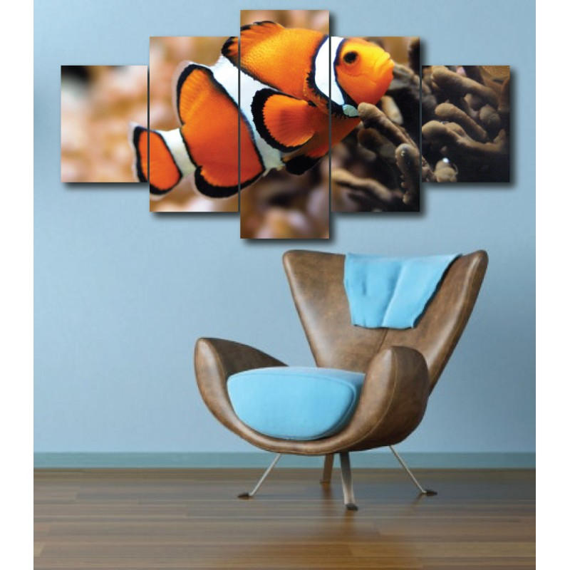 Wall Frames 5 Pieces Set Canvas - Digitally Printed Wall Canvas  post-272