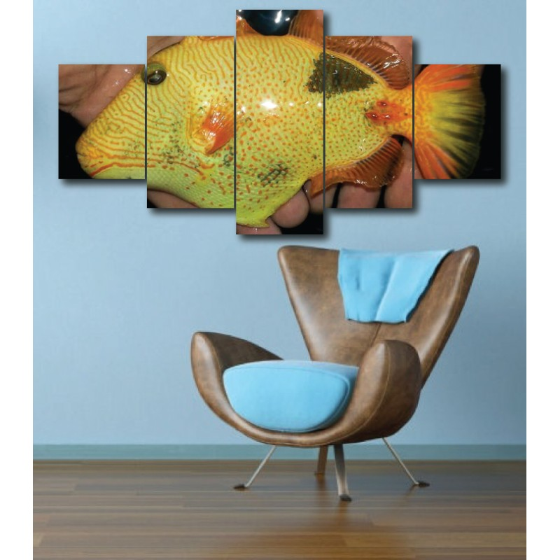 Wall Frames 5 Pieces Set Canvas - Digitally Printed Wall Canvas  post-273