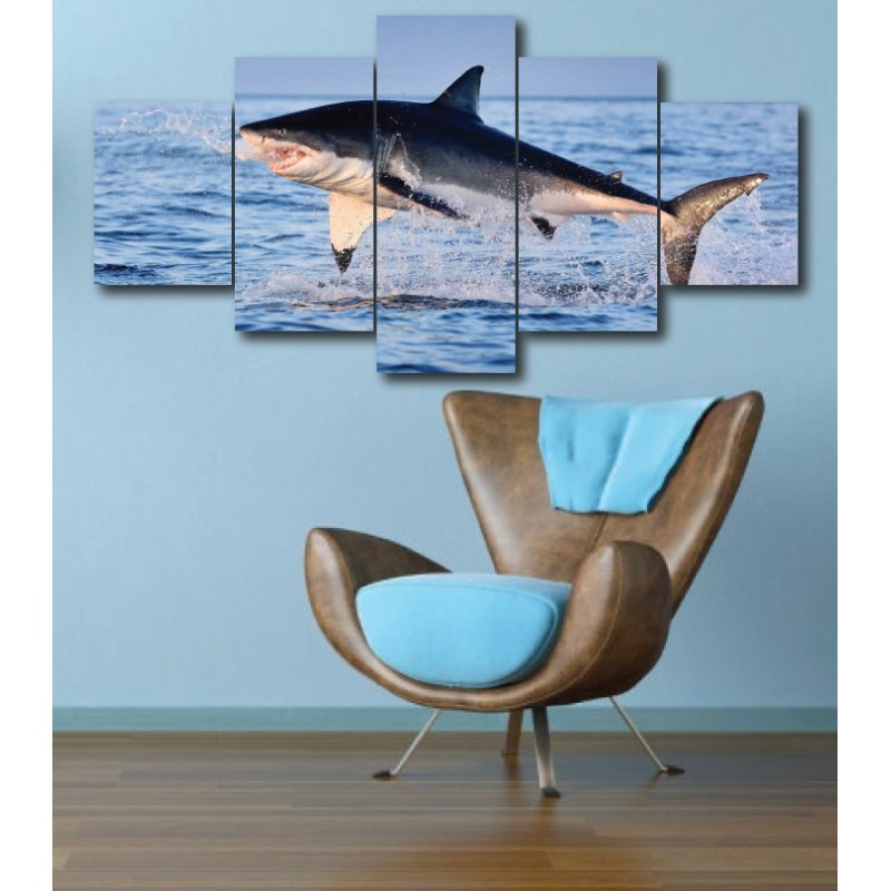Wall Frames 5 Pieces Set Canvas - Digitally Printed Wall Canvas  post-276