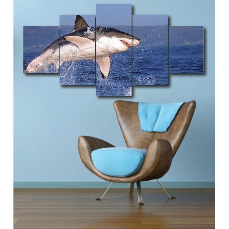 Wall Frames 5 Pieces Set Canvas - Digitally Printed Wall Canvas  post-277