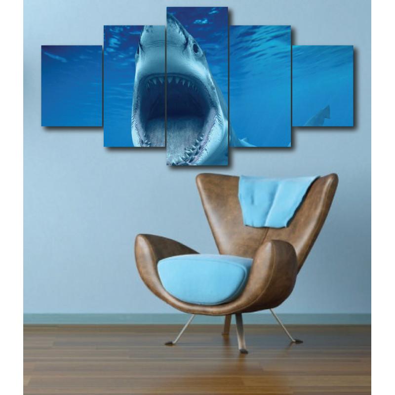 Wall Frames 5 Pieces Set Canvas - Digitally Printed Wall Canvas  post-278