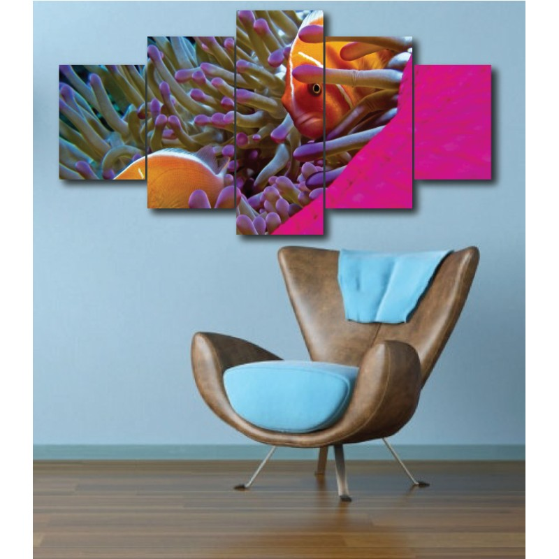 Wall Frames 5 Pieces Set Canvas - Digitally Printed Wall Canvas  post-279