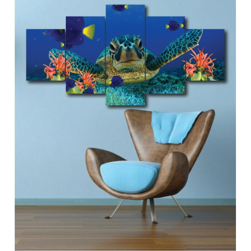 Wall Frames 5 Pieces Set Canvas - Digitally Printed Wall Canvas  post-280