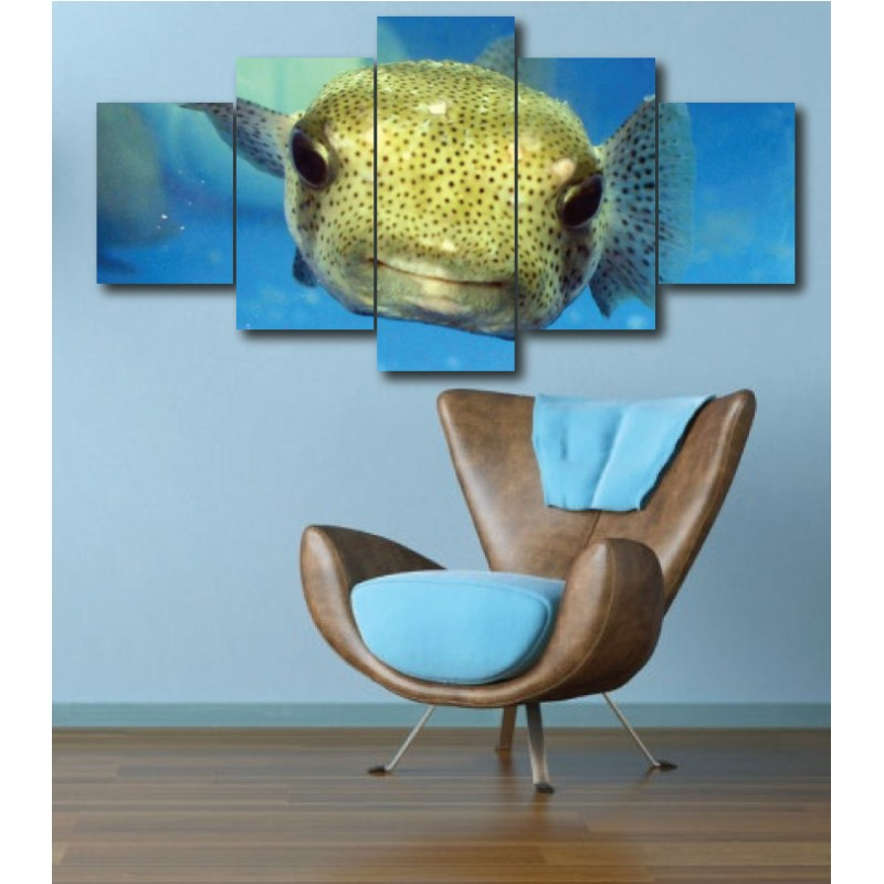 Wall Frames 5 Pieces Set Canvas - Digitally Printed Wall Canvas  post-281