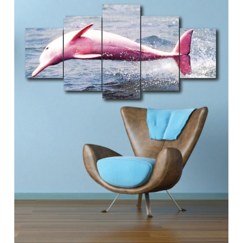 Wall Frames 5 Pieces Set Canvas - Digitally Printed Wall Canvas  post-285