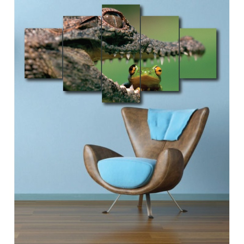 Wall Frames 5 Pieces Set Canvas - Digitally Printed Wall Canvas  post-286