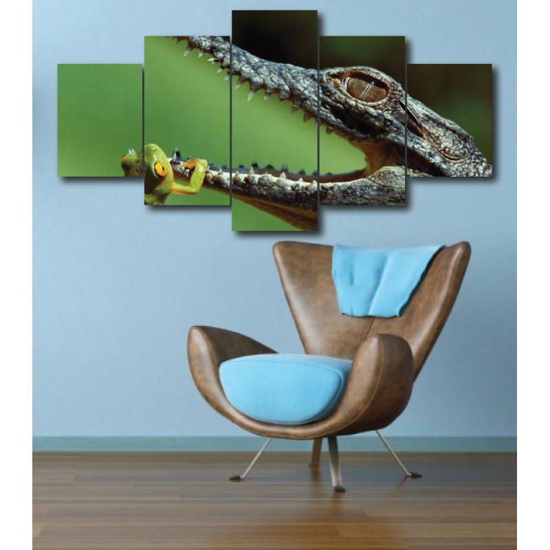Wall Frames 5 Pieces Set Canvas - Digitally Printed Wall Canvas  post-287