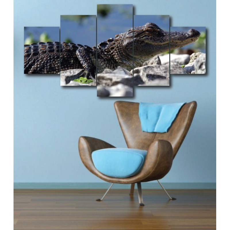 Wall Frames 5 Pieces Set Canvas - Digitally Printed Wall Canvas  post-288