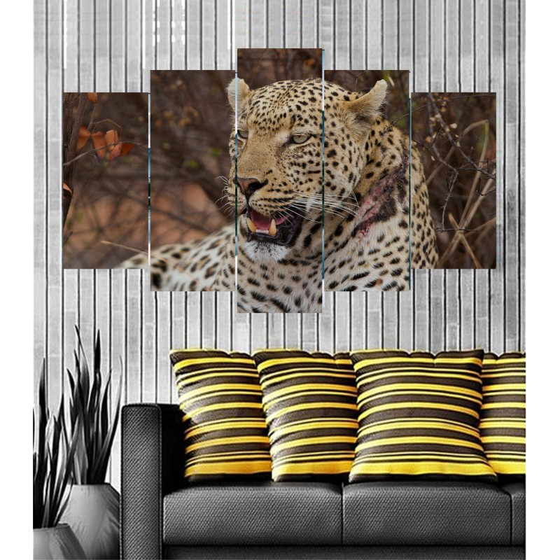 Wall Frames 5 Pieces Set Canvas - Digitally Printed Wall Canvas  post-29